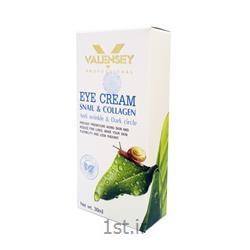 کرم دور چشم کلاژن حلزون والنسی (VALENSEY)