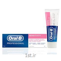عکس خمیردندانخمیر دندان ضد حساسیت اورال بی مدل Oral-B Sensitivity