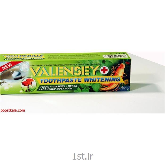 عکس خمیردندانخمیر دندان سفید کننده و جرم گیر والنسی (VALENSEY)