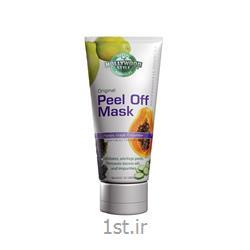 عکس ماسک صورت و بدنماسک لایه ای PEEL OFF پاپایا و خیار و انگور هالیوود استایل