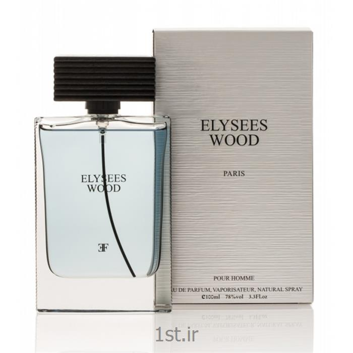 ادوپرفیوم مردانه الیزه فشن مدل الیزه وود (Elysees Fashion)