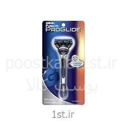 عکس تیغ اصلاحدسته تیغ ژیلت فیوژن پروگلاید +1 یدک (Gillette Fusion)