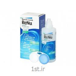 عکس محصولات مراقبت از لنزمایع شستشوی لنز 120 میل رنیو (RENU)