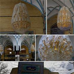 لوستر مسجدی بزرگ