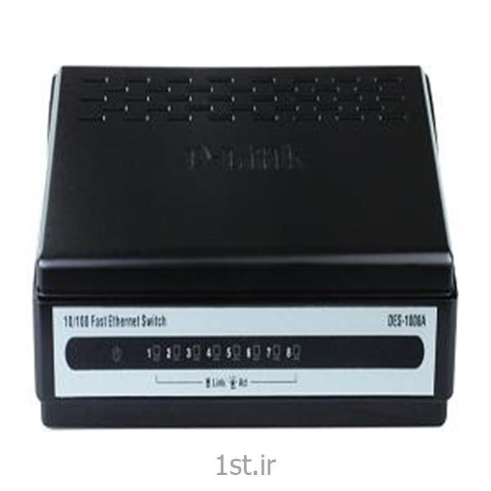 سوییچ 8 پورت دی لینک DES-1008A