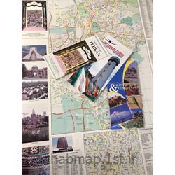 عکس نقشهنقشه توریستی شهر تهران به زبان انگلیسی