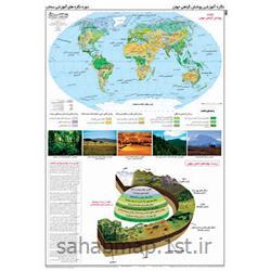 عکس نقشهنگاره آموزشی پوشش گیاهی جهان  - شماره 9