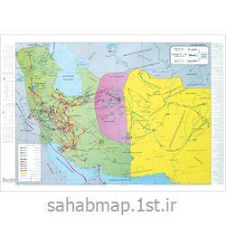 نقشه ایران در زمان زندیه و جانشینان نادر جلد 12