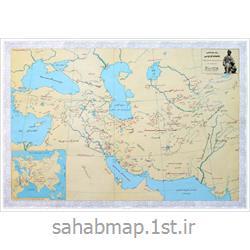 عکس نقشهنقشه جغرافیایی شاهنامه فردوسی