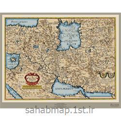 نقشه نوین ایران در سال 1655 میلادی