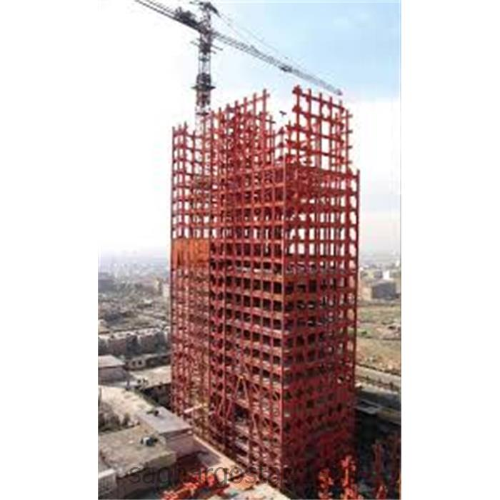 عکس سازه فلزی غیر فولادیاسکلت فلزی جوشی ساختمان