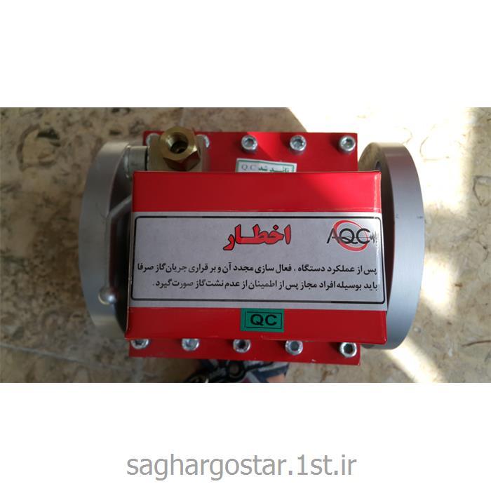 سیستم الکترونیکی قطع اتوماتیک گاز حساس به امواج زلزله