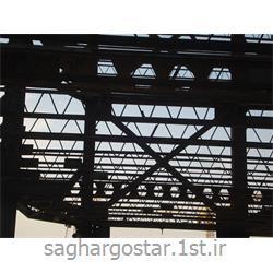 عکس مصالح ساختمانی فلزیسقف کرمیت 25 سانت تا طول 11 متر