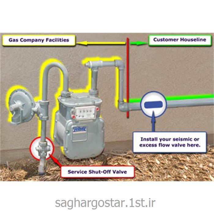 سیستم هوشمند قطع اتوماتیک گاز حساس امواج به زلزله