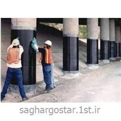 عکس سازه بتنیمقاوم سازی ستون ساختمان با FRP
