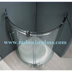عکس شیشه ساختمانیکابین دوش