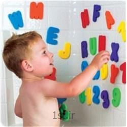 عکس سایر لوازم و محصولات کودکاعداد و حروف چسبان حمام مانچکین (Munchkin)