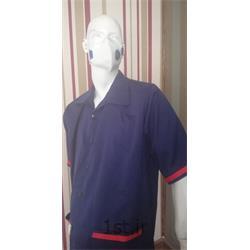 عکس لباس فرم رستورانلباس آشپزخانه مدل سرمه ای قرمز