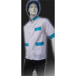 عکس لباس فرم رستورانلباس آشپزخانه مدل نوار آبی