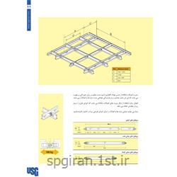 پروفیل سقف کاذب آکوستیک فیبر معدنی (اتصالات)