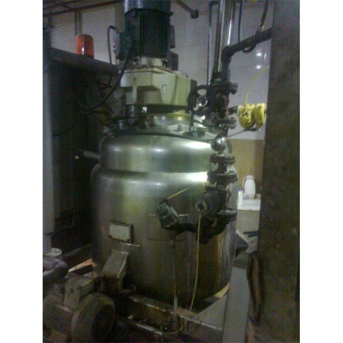 عکس راکتور (رآکتور)راکتور استیل شیمیایی ( Chemical stainless steel reactor)
