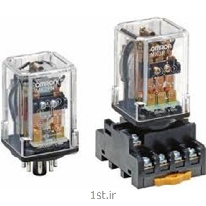 رله امرن (OMRON) سه کنتاکت گرد 10 آمپر MK3PN-IDC110