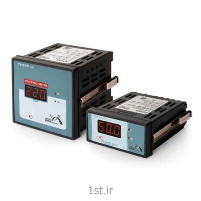 ولت متر و فرکانسمتر تکفاز یک نمایشگر برنا مدل VF1-1A<