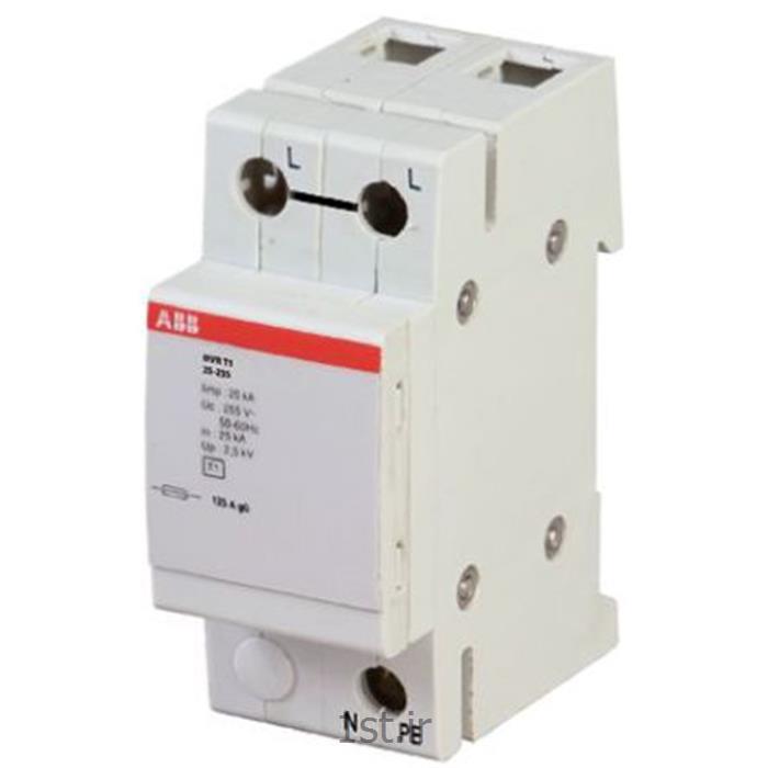 برق گیر 1 فاز تایپ 2+1 مدلABB OVR-T1-25-255