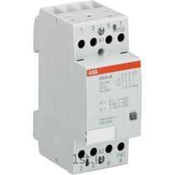 عکس کنتاکتور برق ( کلید خودکار قطع و وصل )کنتاکتور بیصدا 24 آمپر 4 پل مدلABB ESB24-22-24VDC