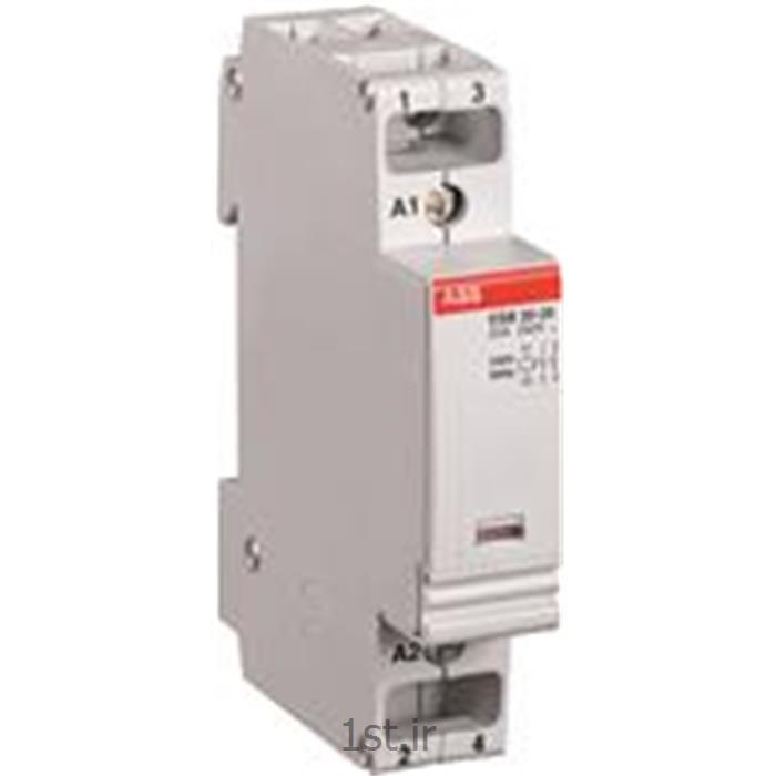 کنتاکتور بیصدا 24 آمپر 2 پل مدلABB ESB20-02-230VAC