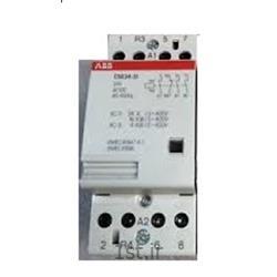 عکس کنتاکتور برق ( کلید خودکار قطع و وصل )کنتاکتور بیصدا 24 آمپر 4 پل مدل ABB ESB24-31-24VDC