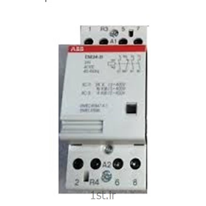 کنتاکتور بیصدا 24 آمپر 4 پل مدل ABB ESB24-31-24VDC