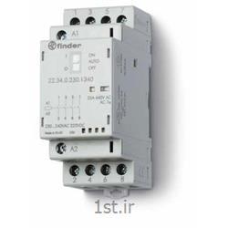 عکس کنتاکتور برق ( کلید خودکار قطع و وصل )کنتاکتور 223402301340 فیندر (finder)