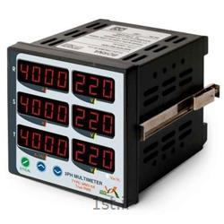 عکس سایر تجهیزات اندازه گیری و ابزار دقیقمولتیمتر سه فاز شش نمایشگر برنا مدل MM3-6A