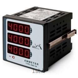 عکس سایر تجهیزات اندازه گیری و ابزار دقیقآمپرمتر سه فاز سه نمایشگر برنا مدل AM3-3A