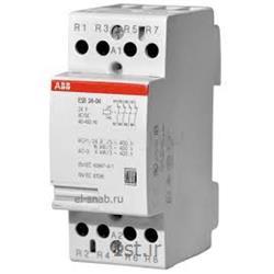 عکس کنتاکتور برق ( کلید خودکار قطع و وصل )کنتاکتور بی صدا 4 کنتاکت مدل ABB EN 24-31