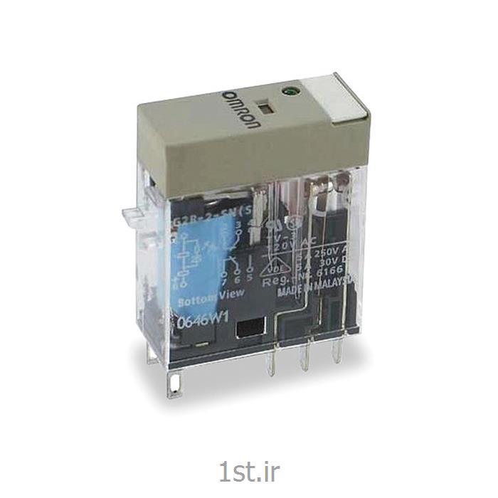 رله امرن (OMRON) دو کنتاکت با LED مدل G2R2-SNI-DC110