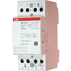 کنتاکتور بی صدا 4 کنتاکت مدل ABB EN 24-40