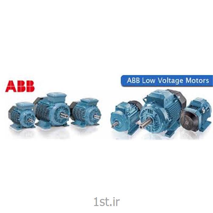 عکس الکترو موتور جریان متناوب (AC)الکترو موتور سه فاز پایه دار ABB