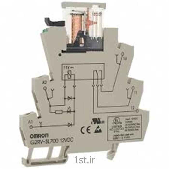 رله plc امرن (OMRON) ریلی 6 آمپر مدل G2RV-SL700-AC/DC24