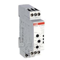 عکس تایمر ( زمان سنج )تایمر مولتی ولتاژ  مولتی فانکشن مدلABB E234 CT-MFD