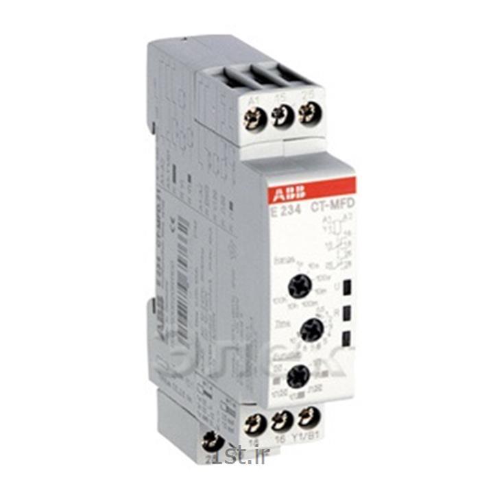 تایمر مولتی ولتاژ  مولتی فانکشن مدلABB E234 CT-MFD