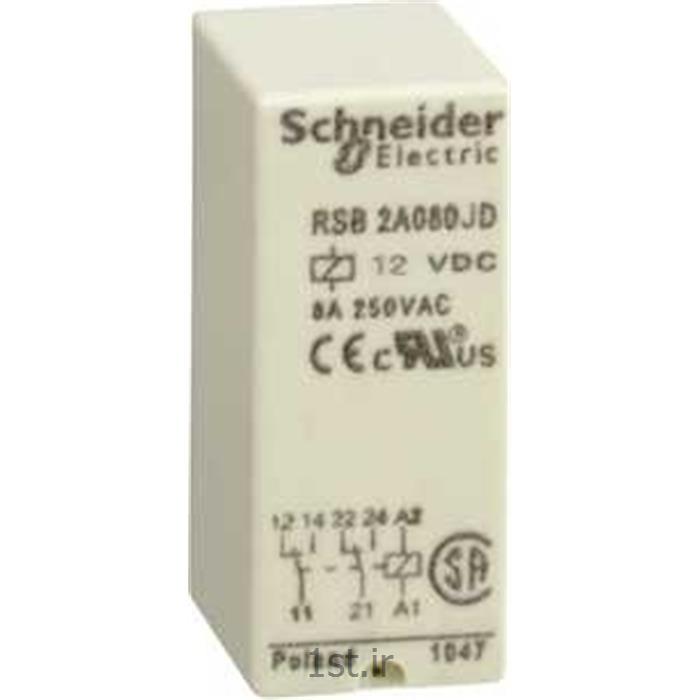 رله اشنایدر مدل RSB2A080JD schneider
