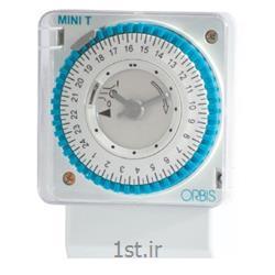 عکس تایمر ( زمان سنج )ساعت فرمان آنالوگ روزانه ذخیره دار اربیس ORBIS MINI T QRD