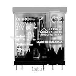 عکس رلهرله امرن (OMRON) یک کنتاکت با LED مدل G2RV-1-S DC21