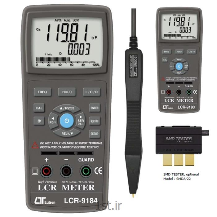 عکس سایر تجهیزات اندازه گیری و ابزار دقیقLCR متر  لوترون مدل Lutron LCR-9184