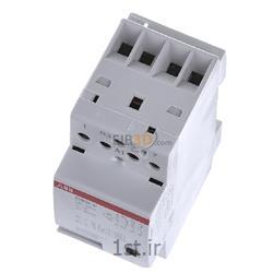 عکس کنتاکتور برق ( کلید خودکار قطع و وصل )کنتاکتور بیصدا 24 آمپر 4 پل مدلABB ESB24-31-230VAC