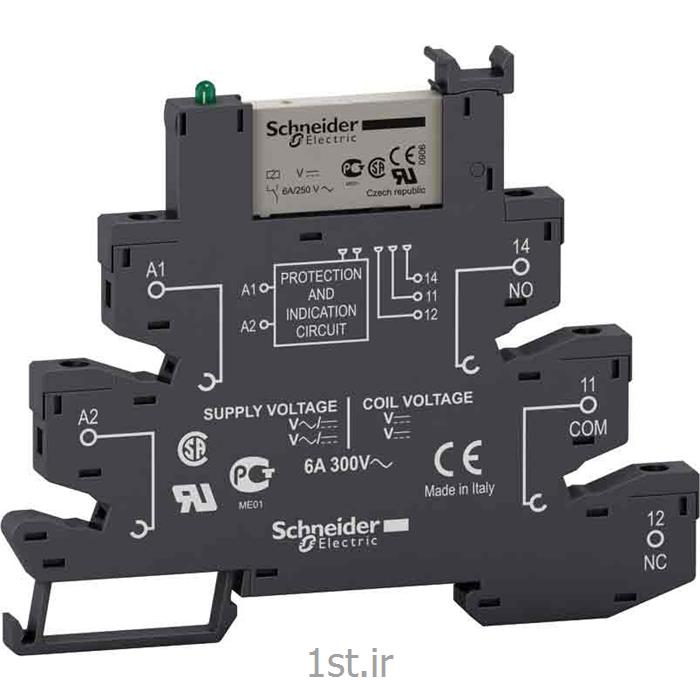 رله اشنایدر مدل RSL1PVPU schneider