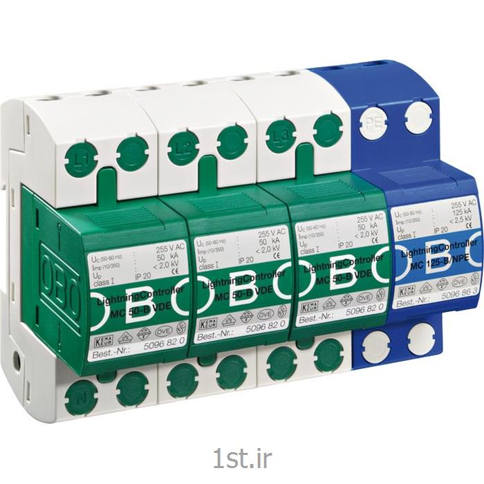 عکس تجهیزات توزیع برقارستر مدل OBO MC 50-B 3+1