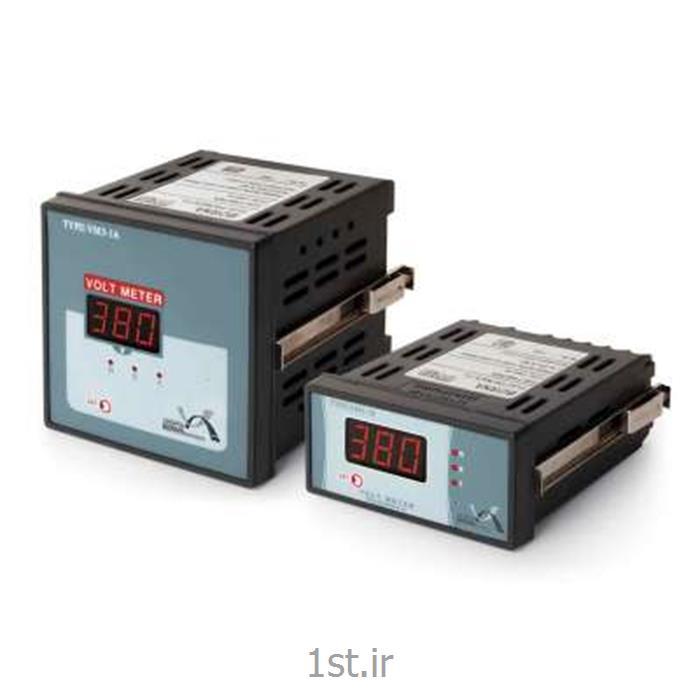 ولت متر سه فاز یک نمایشگر برنا مدل VM3-1A